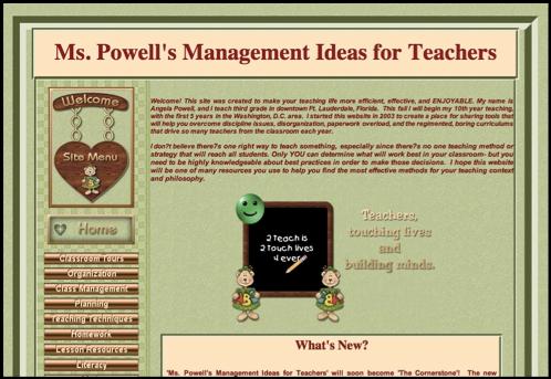 Mspowell.com site